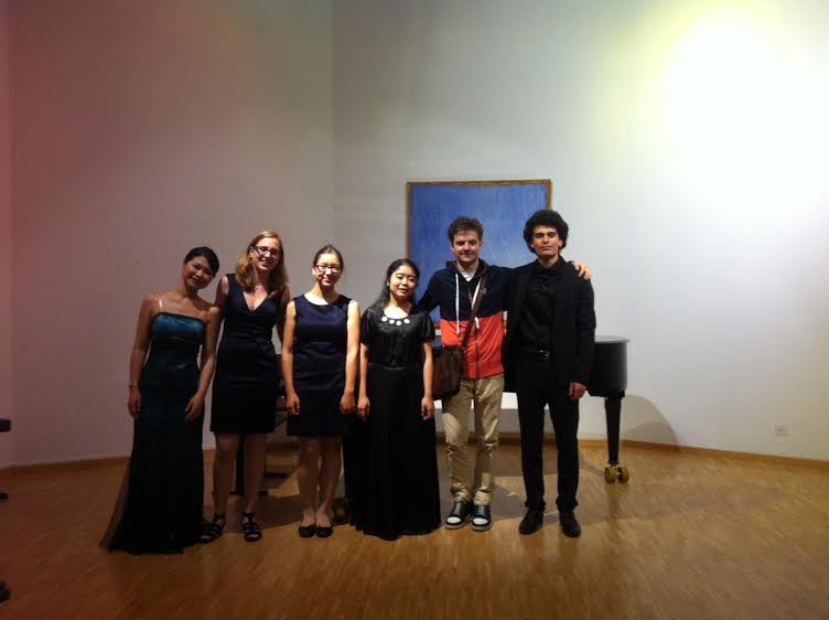 After concert in Lugano, Switzerland