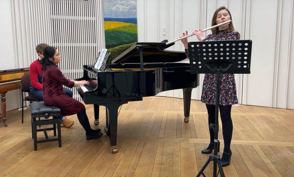 With Imogen Royce, Flute